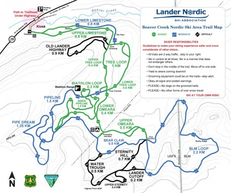 Beaver Creek Trail Map 11-09-2012